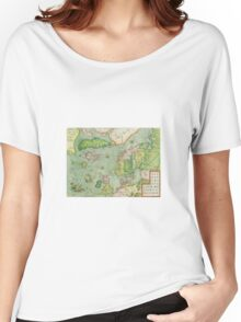 Old map Women's Relaxed Fit T-Shirt