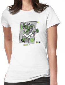 The banjo player Womens Fitted T-Shirt