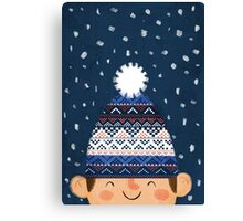 Wooly Hat Canvas Print