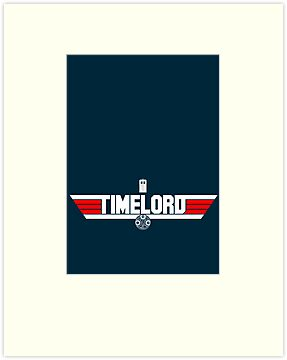 TIMELORD | No Space Edition by geekchic  tees