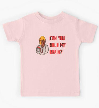 Can You Hold My Brain? (Ood) - Red Kids Tee