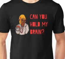 Can You Hold My Brain? (Ood) - Red Unisex T-Shirt