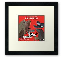 I Am Thankful For Pinnipeds Framed Print
