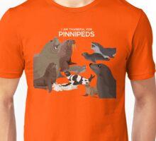 I Am Thankful For Pinnipeds Unisex T-Shirt