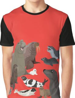 I Am Thankful For Pinnipeds Graphic T-Shirt