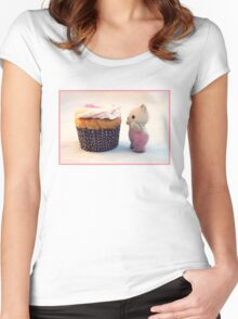 Now That's a Cupcake Women's Fitted Scoop T-Shirt