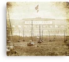 Fenway On The Harbor Canvas Print