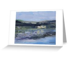 Cut Banks Stuart River Plein Air July 2013 Greeting Card