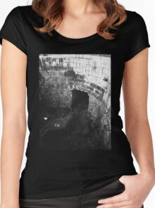 Waste - Chiara Conte Women's Fitted Scoop T-Shirt