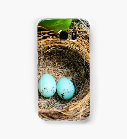 Robins Eggs Samsung Galaxy Case/Skin