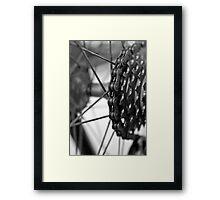 Spokes  Framed Print