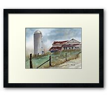 Perry Rd. Framed Print