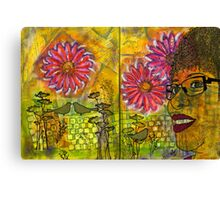 Planted Flowers in My Garden this Year Canvas Print