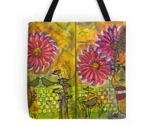 Planted Flowers in My Garden this Year Tote Bag