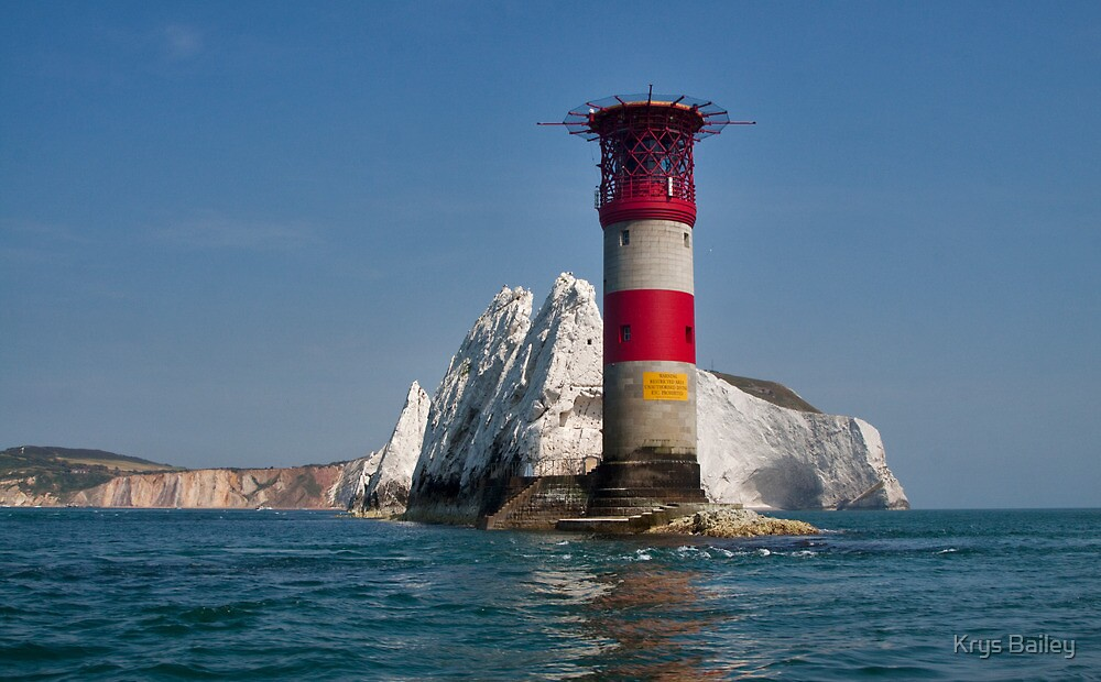 The Needles Lighthouse by Krys Bailey