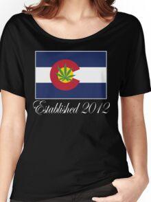 Colorado Marijuana 2012 Women's Relaxed Fit T-Shirt