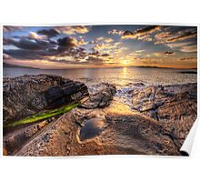 West Harris Sunset Poster