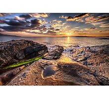 West Harris Sunset Photographic Print