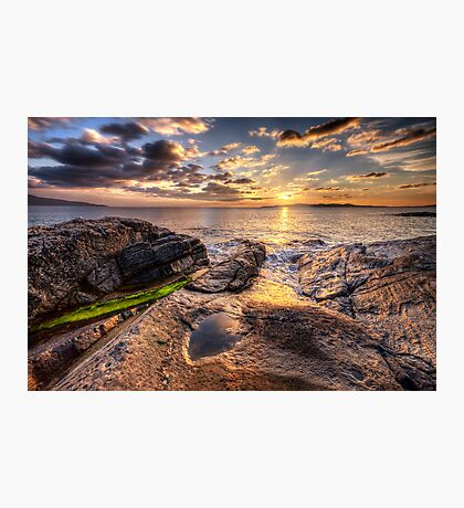 West Harris Sunset Photographic Print