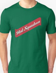 Red Squadron Beer  T-Shirt