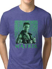 John Matrix - Commando Tri-blend T-Shirt