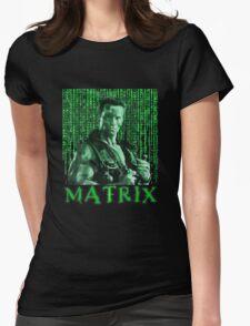 John Matrix - Commando Womens Fitted T-Shirt