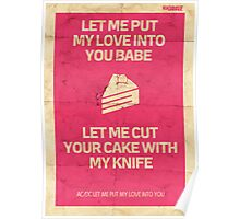 Let Me Put My Love Into You Poster