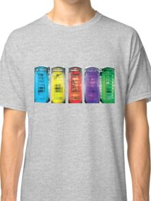 Real Photo of Beautifull Old Battered British Phone Boxes with added colour Classic T-Shirt