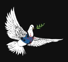 Banksy - Armored Dove of Peace by monica90