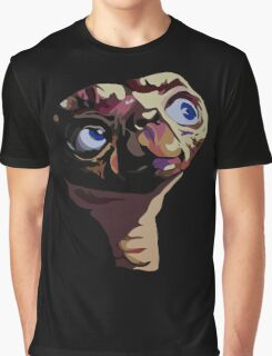 ET The Extra Terrestrial Graphic T-Shirt
