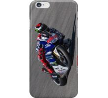 Jorge Lorenzo at laguna seca 2013 iPhone Case/Skin