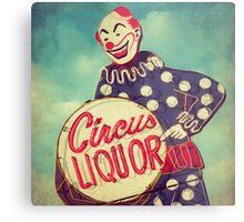 Circus Liquor Metal Print
