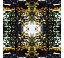 Luminous earth magik Photographic Print