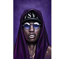 Purple Swag Photographic Print