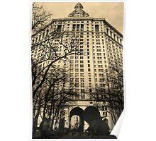 City Hall, Manhattan, New York Poster