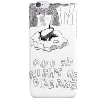 The dreaming Penguin iPhone Case/Skin