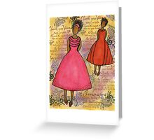 Cherish the Music... Greeting Card