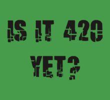 Funny Marijuana 4:20 by MarijuanaTshirt