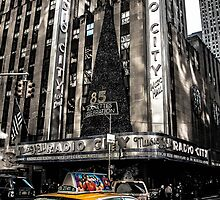 Radio City Music Hall, Manhattan, NYC by storm1313