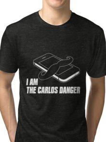 I Am The Carlos Danger Dark Tri-blend T-Shirt