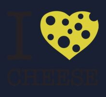 I ♥ CHEESE One Piece - Long Sleeve