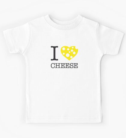 I ♥ CHEESE Kids Tee
