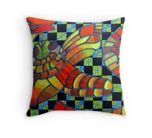 388 - KANDOZZI DESIGN - DAVE EDWARDS - COLOURED PENCILS - 2013 Throw Pillow