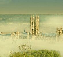 Mist Around The Cathedral by Dave Godden