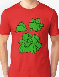 Grass Kanto Starter Silohouettes T-Shirt
