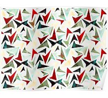 Colorful Geometric Shapes Pattern Poster
