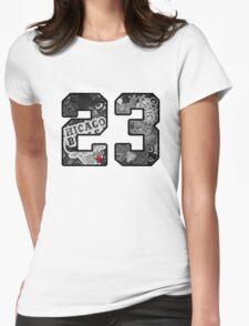 Michael Jordan #23 Womens Fitted T-Shirt