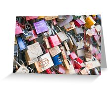 Lover's Locks Greeting Card