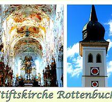 Stiftskirche Rottenbuch by ©The Creative  Minds