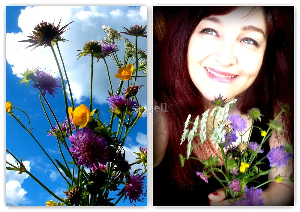 Wild Flowers & Me by ©The Creative  Minds
